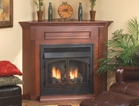 White Mountain Hearth - Cherry finish