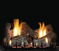 White Mountain Hearth log set